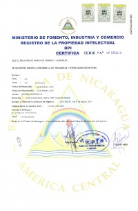 Markenanmeldung Nicaragua