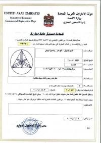 Anmeldung Design Vereinigte Arabische Emirate