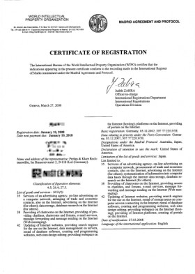 Internationale Registrierung einer Marke (IR-Marke, Madrid Abkommen)