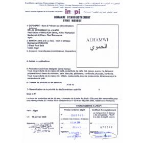 Markenanmeldung Algerien