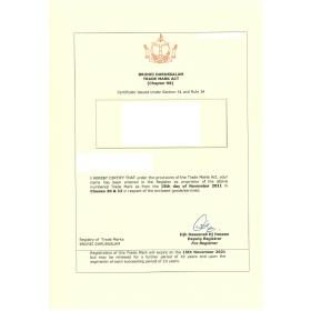 Markenverlängerung Brunei