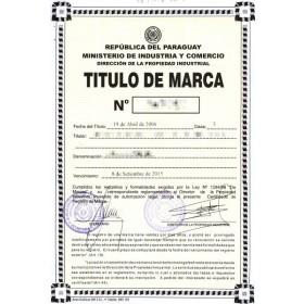 Markenverlängerung Paraguay