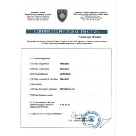 Markenanmeldung Kosovo