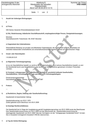 Gründung Unternehmergesellschaft (Mini-GmbH, UG)