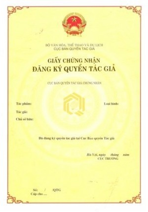 Copyright Registration Vietnam