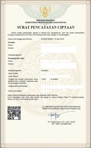 Copyright Registration Indonesia