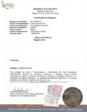 Vertretung des Markeninhabers bei Widerspruch gegen seine Markenanmeldung in Costa Rica