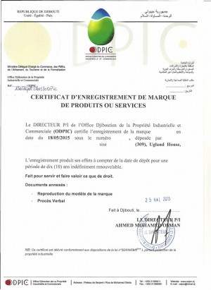 Markenanmeldung Dschibuti