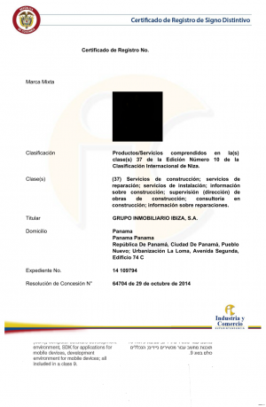 Widerspruch gegen eine Marke in Kolumbien