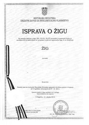 Änderung Adresse Markeninhaber Kroatien