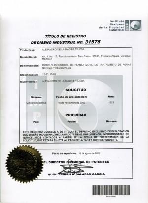 Anmeldung Design Mexiko