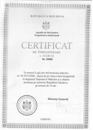 Vertretung des Markeninhabers vor dem Markenamt Moldawien