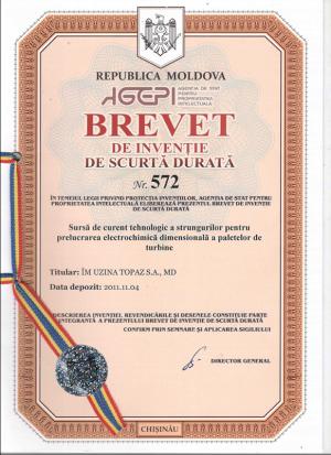 Gebrauchsmuster Anmeldung Republik Moldawien