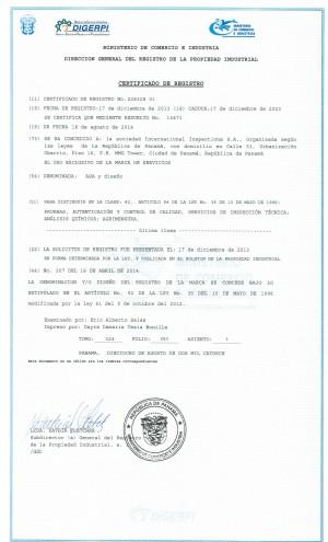 Änderung Markeninhaber (Rechtsnachfolge) Panama