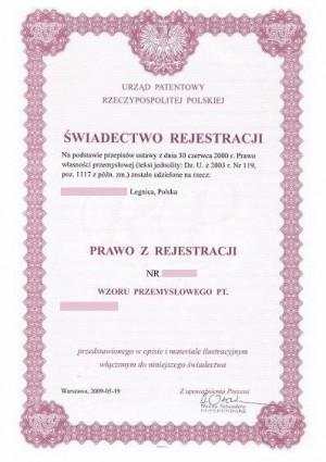 Anmeldung Geschmacksmuster Polen