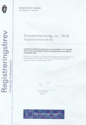 Markenanmeldung Norwegen