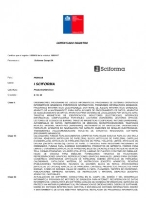 Markenanmeldung Chile