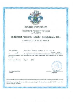 Änderung Adresse Markeninhaber Seychellen