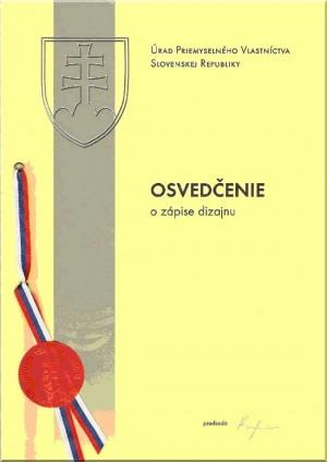 Anmeldung Design Slowakei
