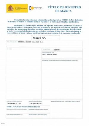 Widerspruch gegen eine Marke in Spanien