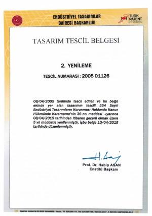 Anmeldung Design Türkei