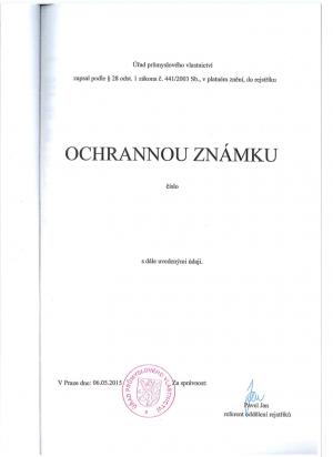 Markenanmeldung Tschechische Republik