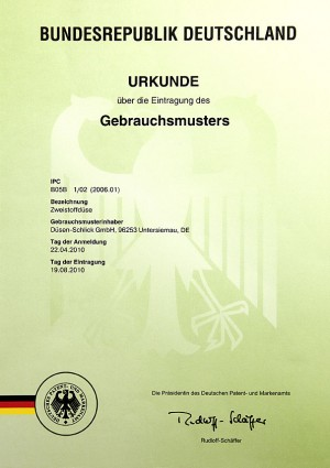 Gebrauchsmuster Anmeldung Tschechische Republik