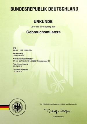 Gebrauchsmuster Anmeldung Dänemark