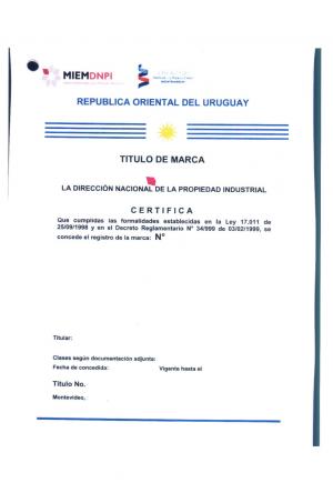 Markenanmeldung Uruguay