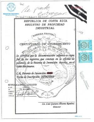 Anmeldung Design Costa Rica