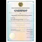 Gebrauchsmuster Anmeldung Armenien