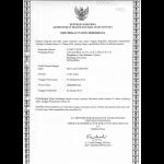 Gebrauchsmuster Anmeldung Indonesien