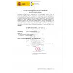 Verlängerung Design Spanien